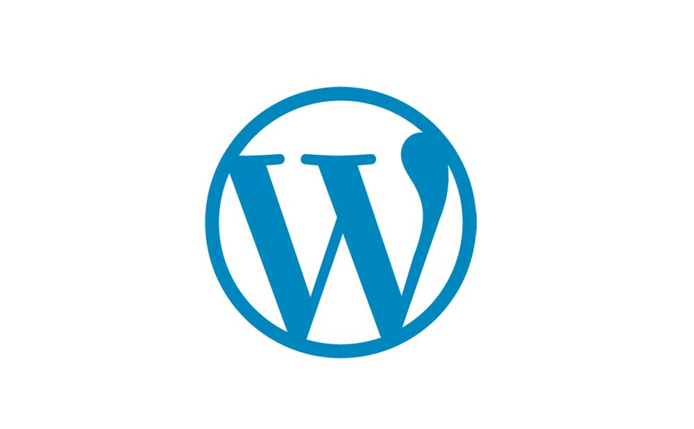 Wordpress Logo No Text